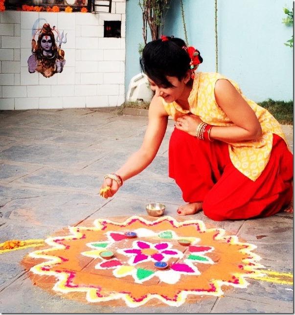 jharana thapa diwali