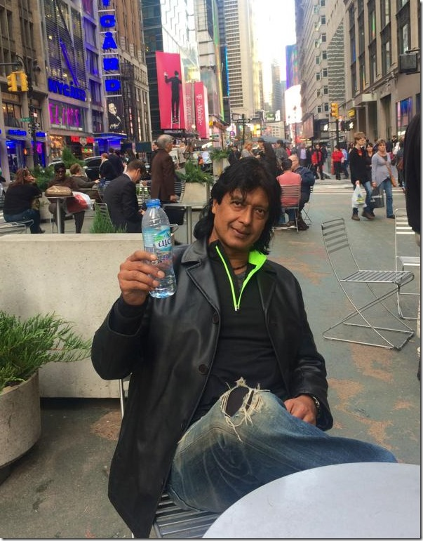 rajesh hamal in nyc