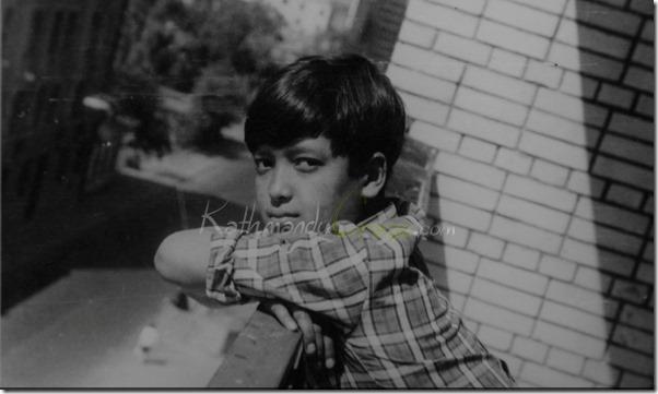 rajesh hamal childhood photos