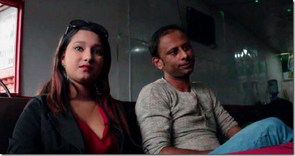 archana paneru and raju giri at the press meet