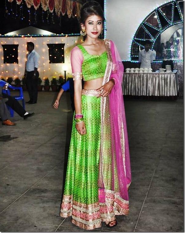 asmi shrestha miss nepal 2016 -hot lehenga