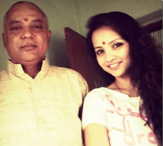 father of namrata sapkota