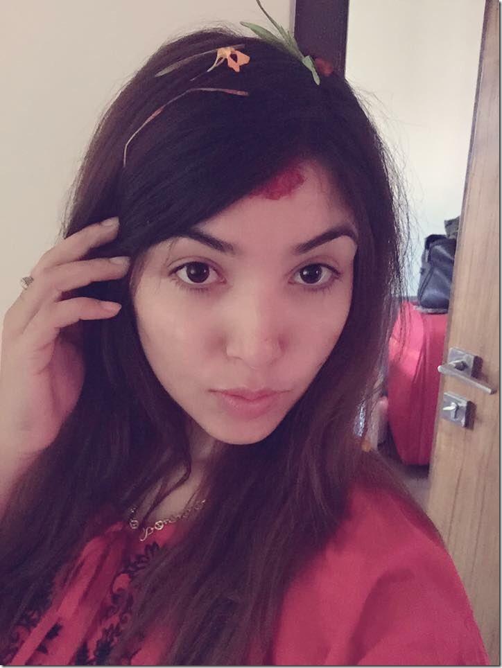 pooja Sharma Dashain 2016