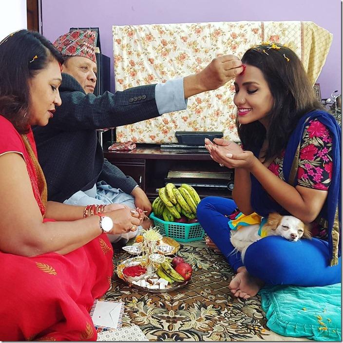 priyanka karki Dashain 2016