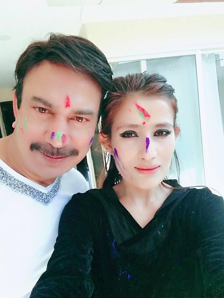 Jiya and Bhuwan KC